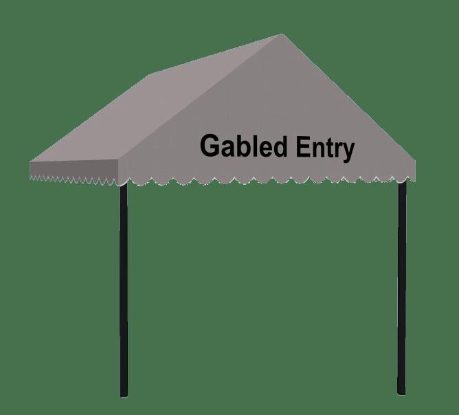 Gabled Entry